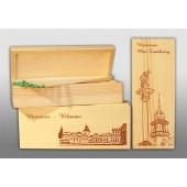 Išskirtiniai degtukai medinėje dėžutėje 175