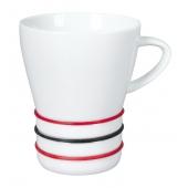 Porcelianinis puodelis Rainbow