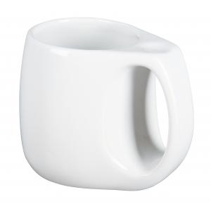 Keramikinis puodelis Strong man white