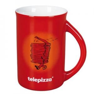 Keramikinis puodelis Norton red