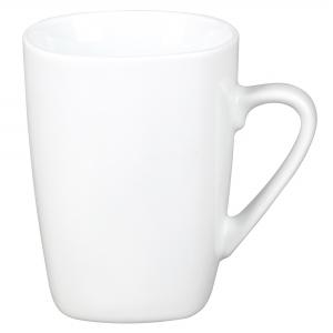 Porcelianinis puodelis Quadro white