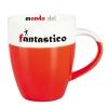 Porcelianinis puodelis Mezzo mini red