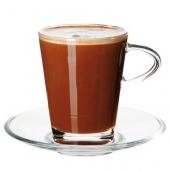 Stiklinis puodelis Coffee & Tea